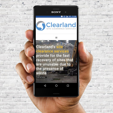 Website design: Clearland