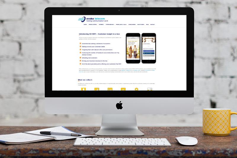 Website design - Evoke