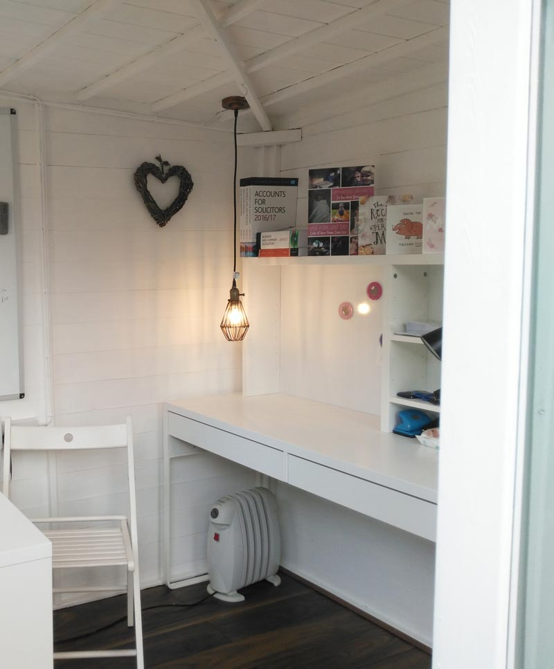 Lighting summer house shed office